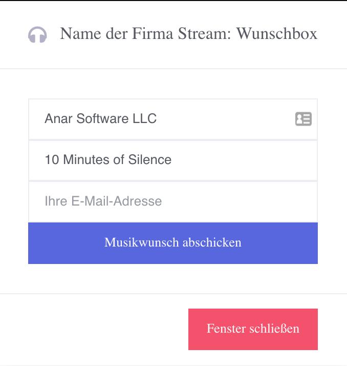 Automatische Wunschboxen innerhalb des Centova Cast Interfaces