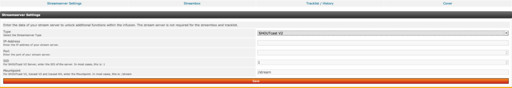 SHOUTcast Tools für PHP-Fusion 7.02.x / Version 1.2.5