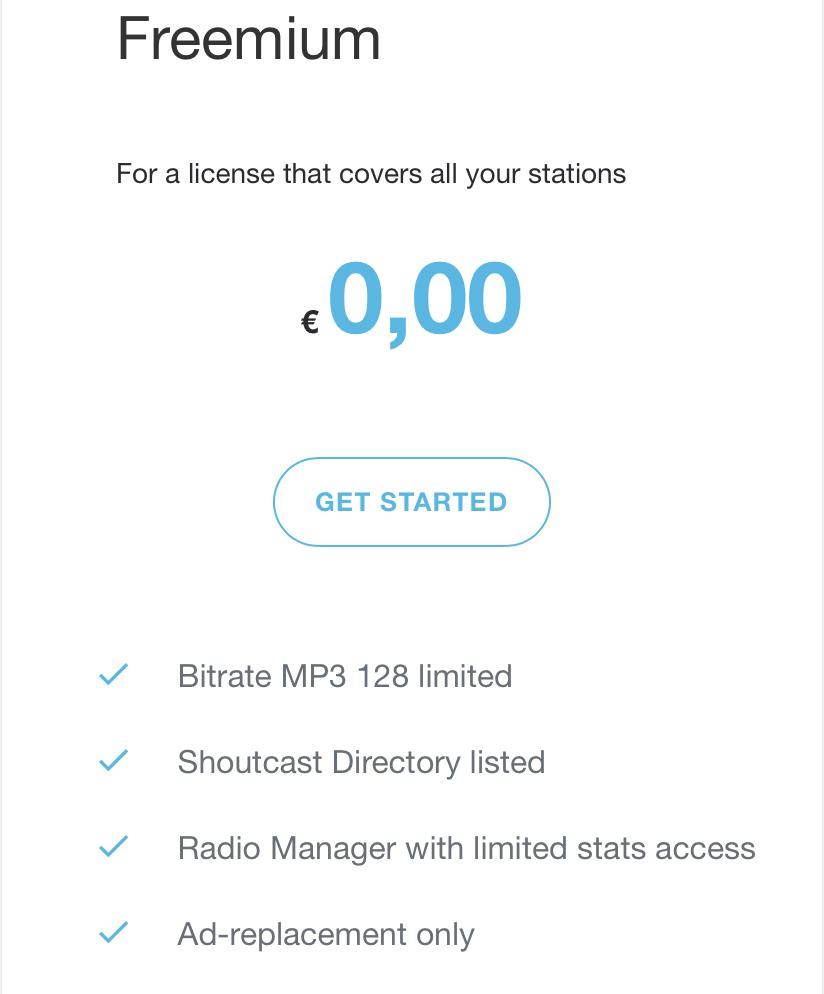 SHOUTcast 2.6 Update auf allen Systemen